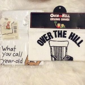 NWT OVER THE HILL/AGE 40 & TOWEL